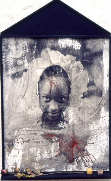 canvas girl emulsion