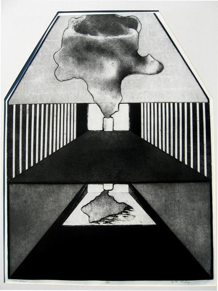 7.Turley,Pasha Over Dose intaglio etching 30x40